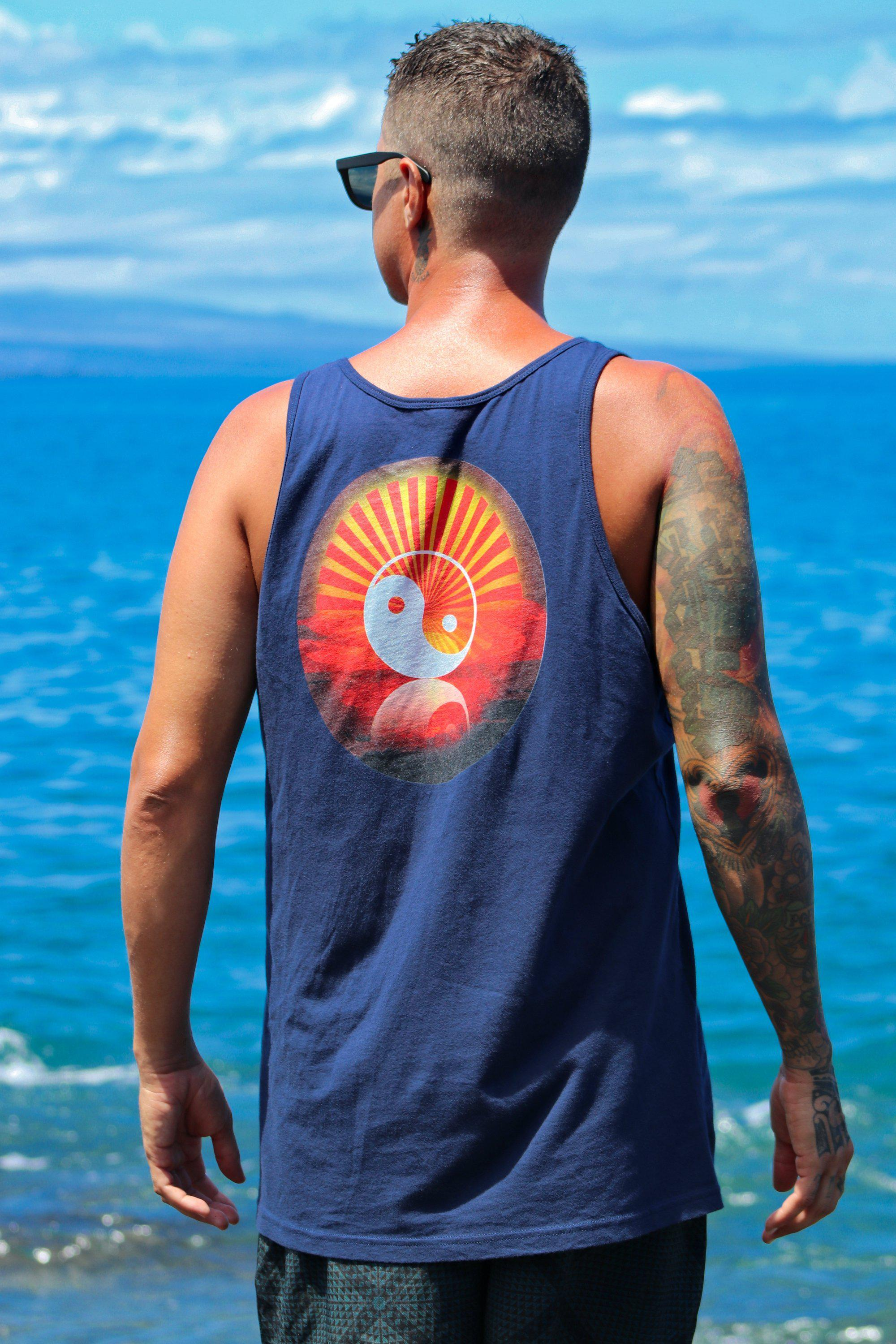 Asana Hawaii Rise of Zen Unisex Tank Top