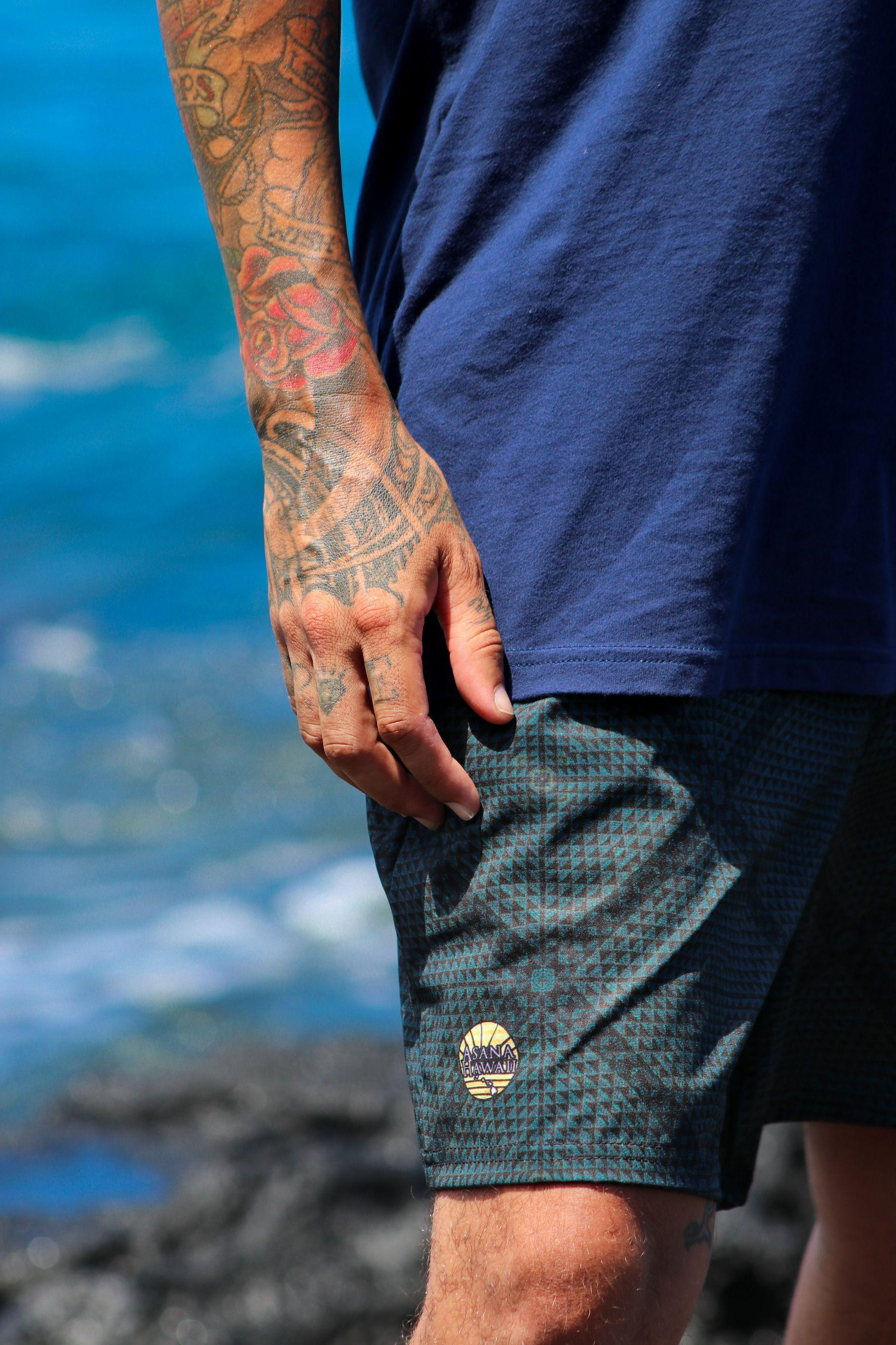 Asana Hawaii Kaula Men's Shorts