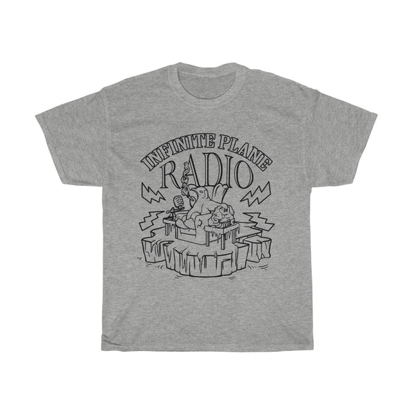 INFINITE PLANE RADIO// Official Unisex Heavy Cotton Tee