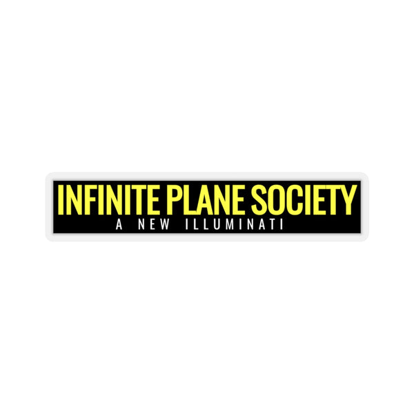 INFINITE PLANE SOCIETY / STICKER