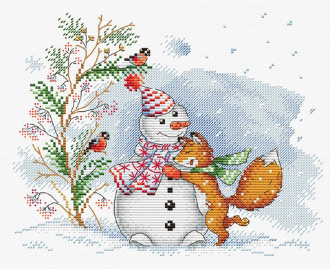 MP Studia Cross Stitch Kit - Warm Friendship
