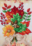 VDV Bead Embroidery Kit - Autumn Mood