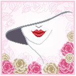 VDV Bead Embroidery Kit - Mysterious Lady