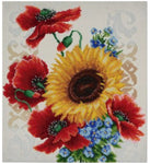 VDV Bead Embroidery Kit - Flowers of the Field TN-0793