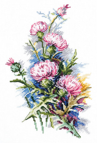 Magic Needle Cross Stitch - Thistle