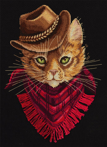 Panna Cross Stitch Kit - Tom Outlaw