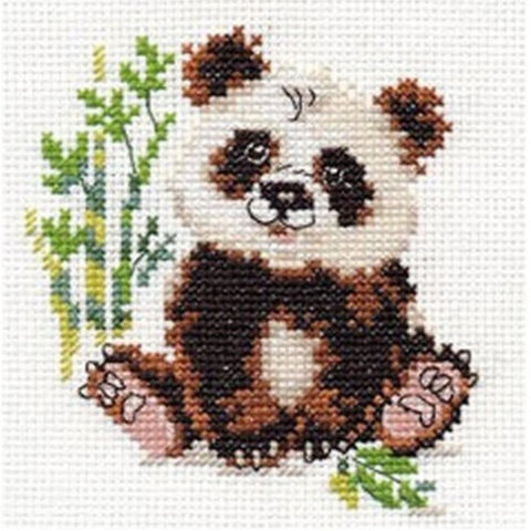 Squirrel and Pine Cone Alisa Cross Stitch Kit