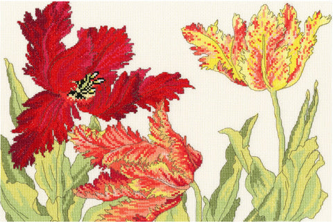 Bothy Threads Cross Stitch Kit - Tulip Blooms