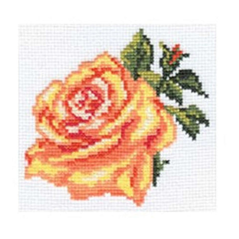 Alisa Cross Stitch Kit - Rose