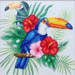 VDV Bead Embroidery Kit - Toucan