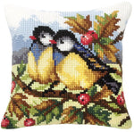 Orchidea Tapestry Kit - Blue Tits and Berries