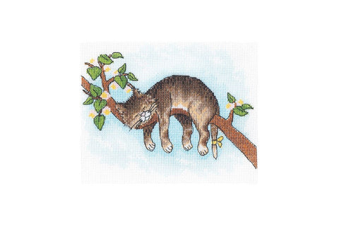 Andriana Cross Stitch Kit - Don't Wake Up!