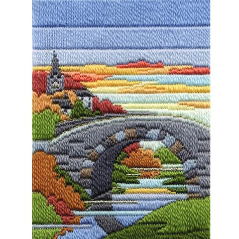 Derwentwater Designs Long Stitch Kit - Autumn Evening