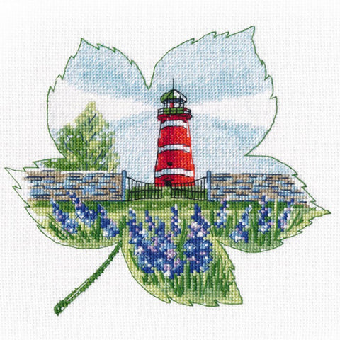 Oven Cross Stitch Kit - The Lighthouse Of Narsholmen