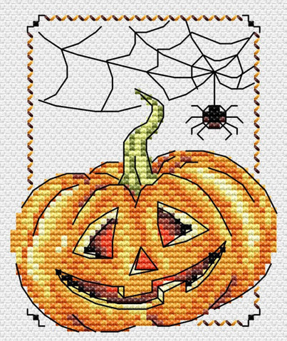 MP Studia Cross Stitch Kit - Smiling Pumpkin