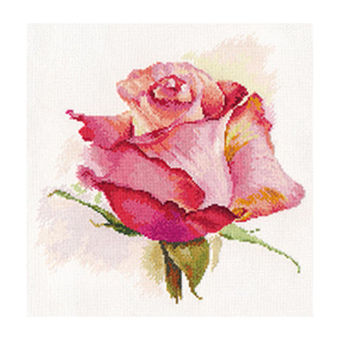 Alisa Cross Stitch Kit - The Breath of Rose Charm
