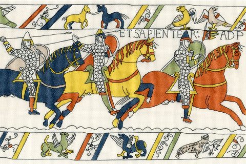 Bothy Threads Cross Stitch Kit - Bayeux Tapestry The Cavalry