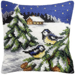 Orchidea Tapestry Kit - Blue Tits in Snow