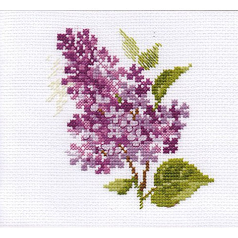 Alisa Cross Stitch Kit - Lilac