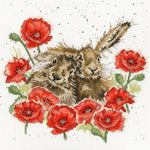Bothy Threads Cross Stitch Kit - Love Is In The Hare