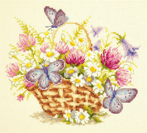 Magic Needle Cross Stitch - Summer Sentiment