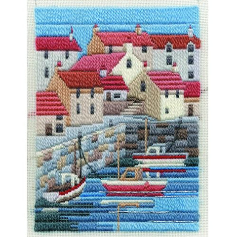 Derwentwater Designs Long Stitch Kit - Coastal Summer