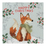 Bothy Threads Cross Stitch Card Kit - Xmas Fox