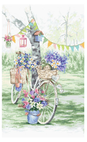 Letistitch Cross Stitch Kit - Bike (Leti971)