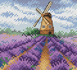 MP Studia Cross Stitch Kit - Provence Charm