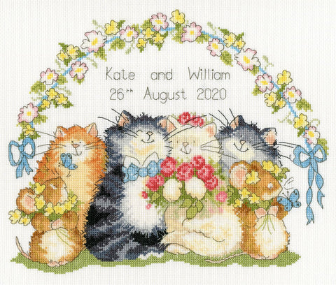 Bothy Threads Cross Stitch Kit - The Purrrfect Day