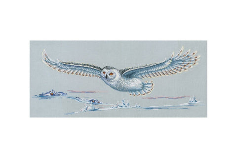 Andriana Cross Stitch Kit - Polar Owl