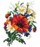 Magic Needle Cross Stitch - Cute Bouquet