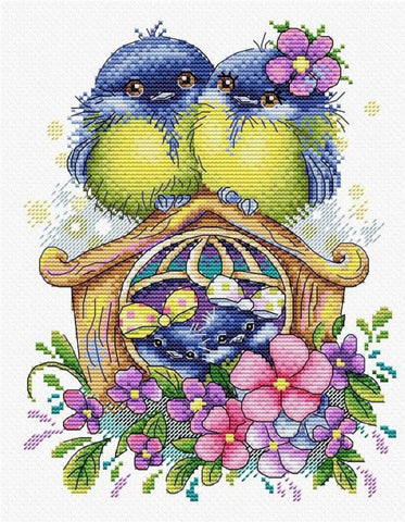 MP Studia Cross Stitch Kit - Happy Family