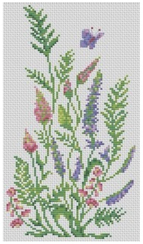 VDV Cross Stitch Kit - Meadow Bloom (M-0246),