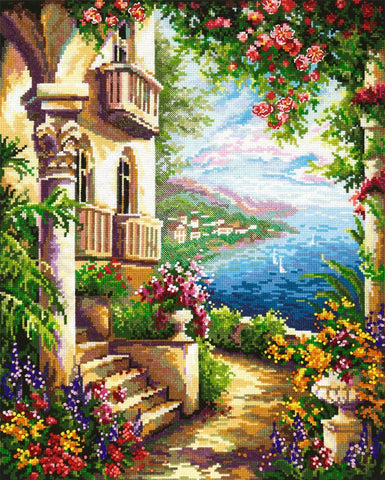 Magic Needle Cross Stitch Kit - At the Black Sea