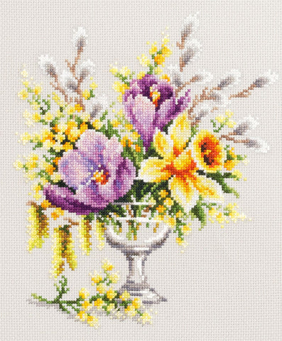Magic Needle Cross Stitch - Spring Bouquet