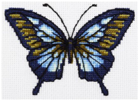 VDV Cross Stitch Kit - Butterfly (M-0215),