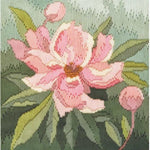 Derwentwater Designs Long Stitch Kit - Peony