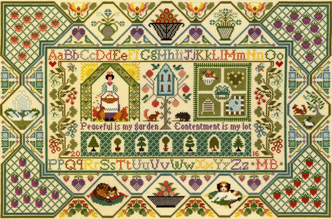 Bothy Threads Cross Stitch Kit - Peaceful Garden