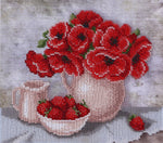 VDV Bead Embroidery Kit - Strawberry Breakfast
