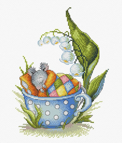 MP Studia Cross Stitch Kit - Summer Dream