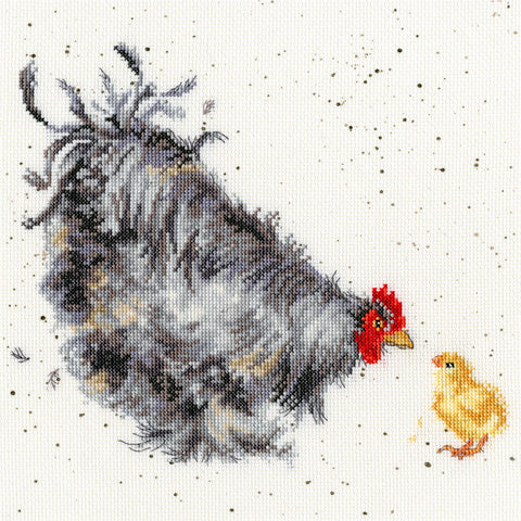Bothy Threads Cross Stitch Kit - Mother Hen