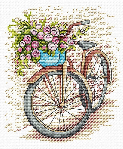 MP Studia Cross Stitch Kit - Bicycle