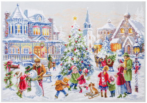 Magic Needle Cross Stitch Kit - Christmas Eve