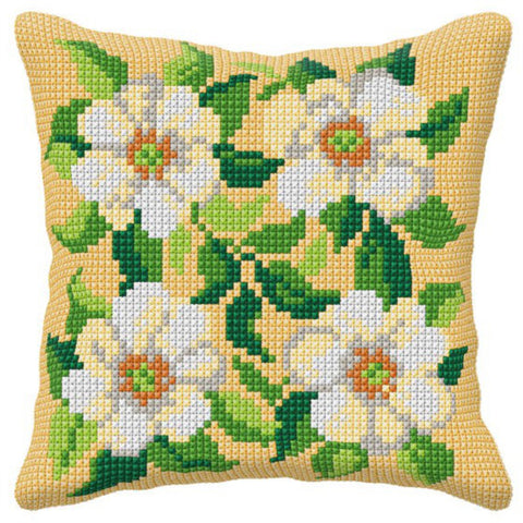 Orchidea Tapestry Kit - White Daisies