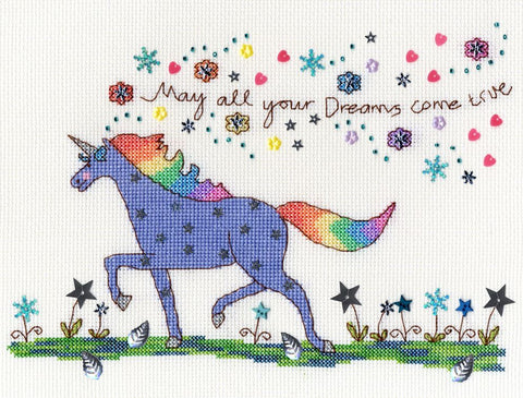 Bothy Threads Cross Stitch Kit - Love Dreams