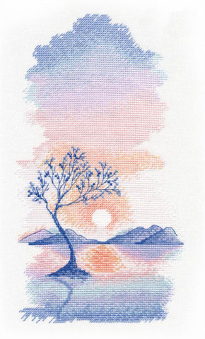 Oven Cross Stitch Kit - Sunset