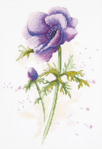 Panna Cross Stitch Kit : Anemone