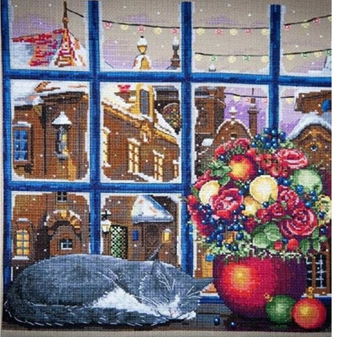 Merejka Cross Stitch Kit - Winter Dream