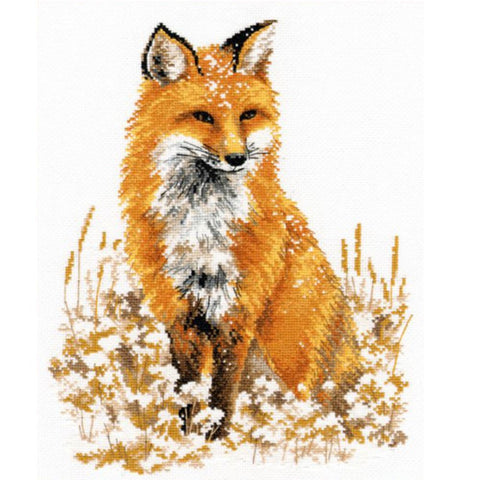 Oven Cross Stitch Kit - Little Fox